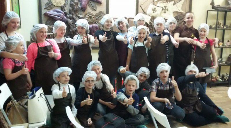 Экскурсия в музей шоколада