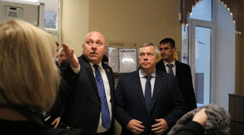 Визит губернатора Ростовской области в наш лицей