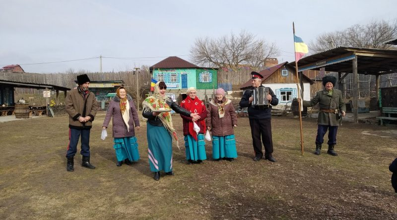 Масленица в станице Пухляковской