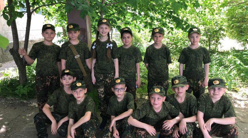 Военно-патриотическая игра «Звездочка»